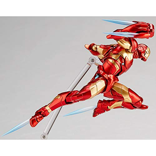 Revoltech amazing iron man 1