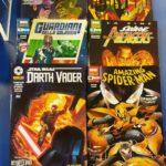 Panini comics e DC amazing spiderman darth vader savage avengers guardiani della galassia marvels nuove 22 settembre 2020