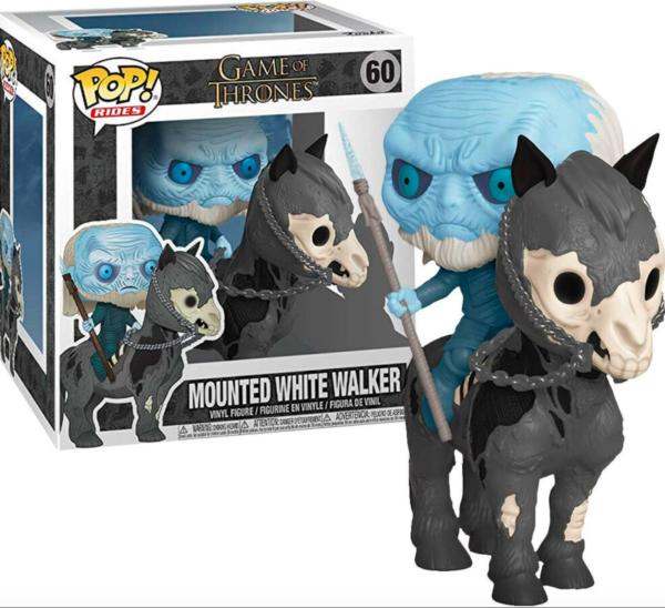 Funko Pop Game of Thrones Mounted White Walker n.60