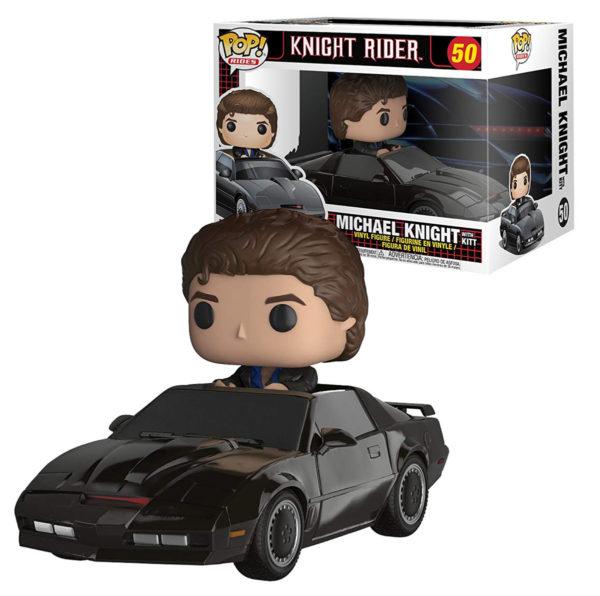 Funko Pop Knight Rider Michael Knight with Kitt n.50