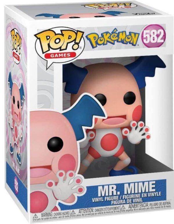 Funko Pop Pokemon Mr. Mime n.582 01
