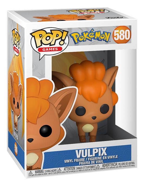 Funko Pop Pokemon Vulpix n.599 01