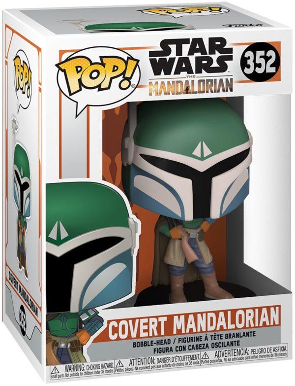 Funko Pop Star Wars Covert Mandalorian n.352