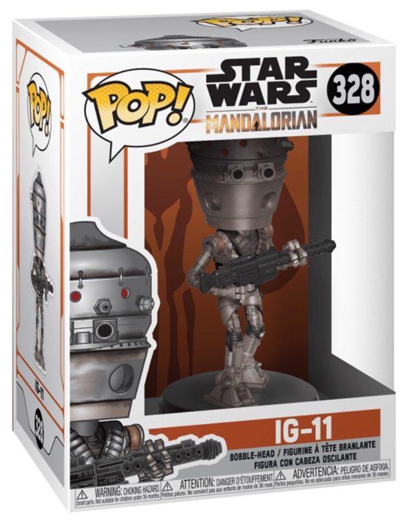 Funko Pop Star Wars The Mandalorian IG 11 n.328