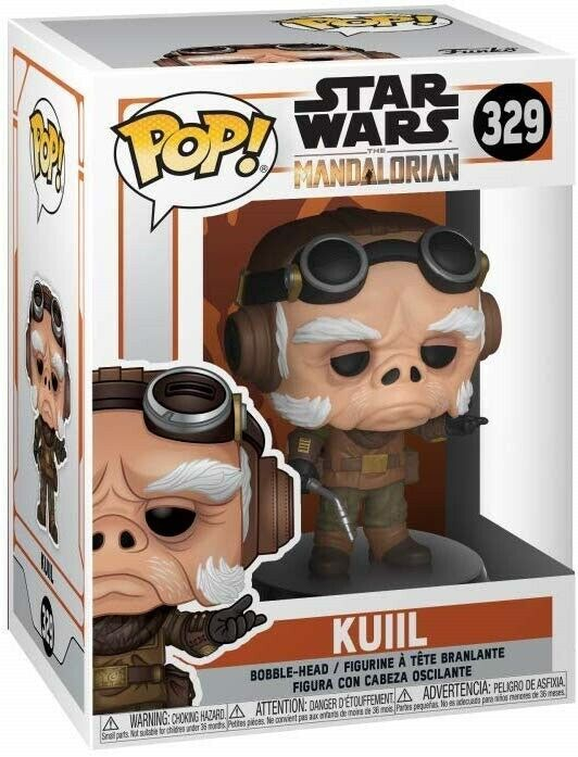 Funko Pop Star Wars The Mandalorian Kuil n.329