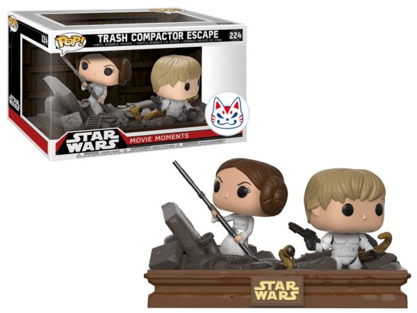 Funko Pop Star Wars Trash Compactor Escape n.224