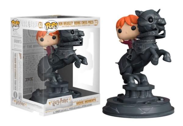 Ron Weasley Riding Chess Piece 82