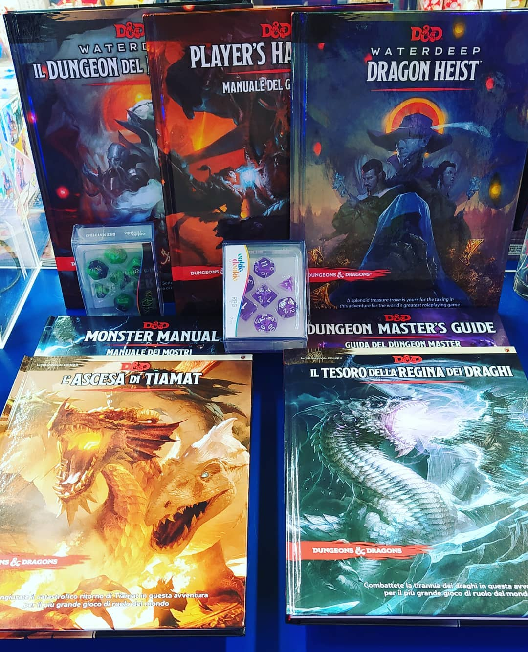 Dungeon & dragons manuali per tutti i gusti
