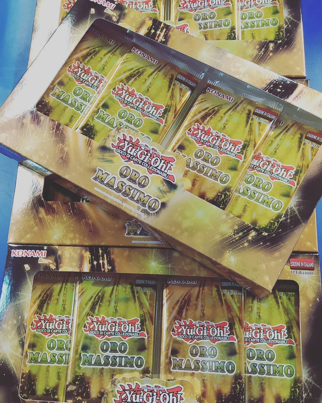 Novità carte Yu-gi oh: oro massimo